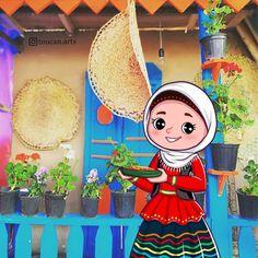 Cartoon Owl Drawing, Owl Cartoon, Cartoon Girls, Hijab Logo, Online Themes, Islamic Cartoon, Art Drawings For Kids, Islamic Pictures, Book Illustration
