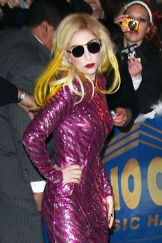Lady Gagas fun, funky, and wacky hairstyles!