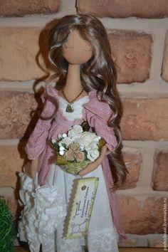 Коллекционные куклы ручной работы. Ярмарка Мастеров - ручная работа. Купить РОЗОВОЕ УТРО. Handmade. Кукла ручной работы, м