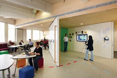 moveable spaces & multi-function spaces: Movable walls to change space funtionalty