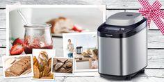 Panasonic-SD-ZB2502-Rezepte Bread Alternatives, Bread Machine Recipes, Popcorn Maker, Gluten Free, Kitchen Appliances, Oatmeal, Food, Vending Machines, Food And Drinks