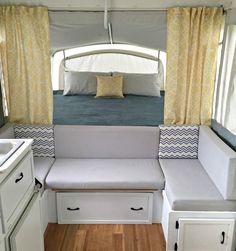 RV Remodel Camper Interior Ideas 40