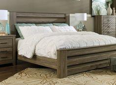 Clausen Barnwood Bed