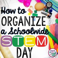 Last Thursday, our school held it's first annual schoolwide STEM Day, organized and beautifully orchestrated by my talented GRC teammate, Kristi. Because we teach at a school with over 500 students, we've both been trying to wrap our heads around a STEM Day or STEM Night for the past year, but weren't sure how to …