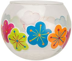Fun Flower Bowl project from DecoArt