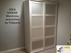 IKEA KVIKNE Wardrobe Assembled By Flatpack In SE Washington, DC  Www.flatpackservices.com