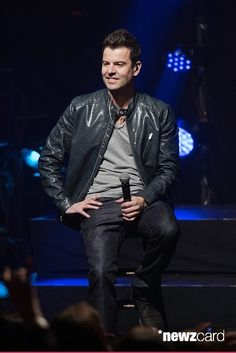Jordan Knight of the New Kids On The Block performs at the Gramercy Theatre on February 15, 2015 in New York City.  (Photo by Mike Pont/FilmMagic)