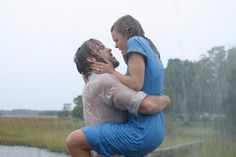 Still of Ryan Gosling and Rachel McAdams in The Notebook...I will always love this movie and this moment