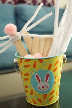 Toddler Craft - Bunny Nose and Whisker mask
