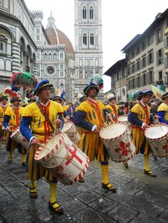Easter festivities. Florence, Italy