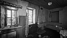"photos of abandonment"" is a project by Giorgos Zontanos that documents an abandoned house in Thasos, taking us back in time in Greece. Thasos, Greece Art, Back In Time, Abandoned Houses, Greek, Journey, Black And White, Abandoned Homes, Greek Language"