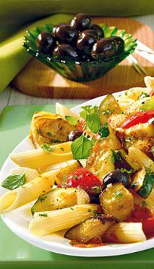 Penne mit mediterranem Gemüse: http://kochen.bildderfrau.de/rezepte/rezept_penne-mit-mediterranem-gemuse_218865.aspx  #nudeln #pasta