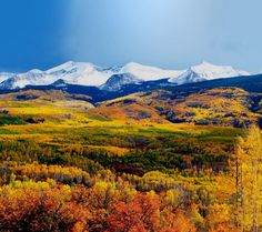 Crested Butte in the fall.No matter what season, it is pure beauty. #MyHomeTownPins