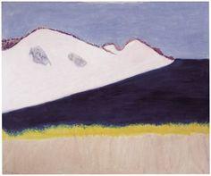 beenaround-ordinaryperson:  Milton Avery, Dark Inlet,1963; oil on canvas, 50 x 60 in (127 x 152.4 cm)
