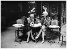 Branger: Terrasse de Café Paris