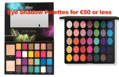 Eye Shadow Palettes for €50 or less. Get the latest eye shadow brands and make up from Irish fashion website, Fashion.ie. Morphe, Stacey Marie Carnival