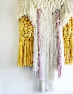 vintage fibre art. Why is this stuff so hard to find in Australia!? I think all the old hippies must be hoarding it.