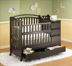 Extra Storage Crib