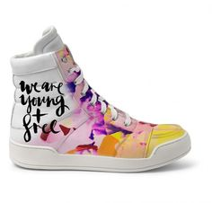Balmain Leather High-Top Sneakers customized by M.M's & Affinity Creative Studio (Afinidade Estudio Criativo)