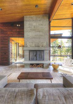 Timber pattern conc