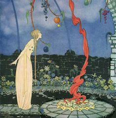 Princess Rosalie from Old French Fairy Tales illustrated by Virginia Frances Sterrett