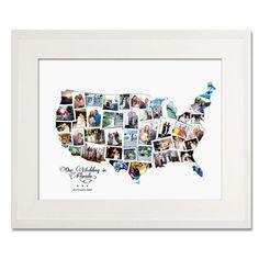 USA Wedding, Honeymoon or Anniversary Collage