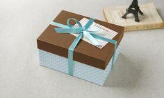 【楽天市場】キュートなギフトボックスセット (箱、リボン、カード付):モノココロ