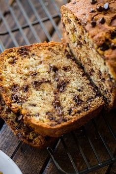 If you are searching for The Very Best Banana Bread Recipe have no fear! I have made over 100 banana bread recipes and finally found the one. This loaf is perfectly moist and filled with mini chocolate chips. Your house will smell like heaven after making a loaf!
