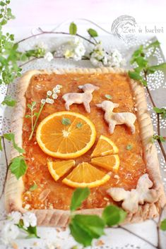 Polish Food, Polish Recipes, Easter Food, Easter Recipes, Cake Cookies, Grapefruit, Good Food, Food And Drink, Sweets