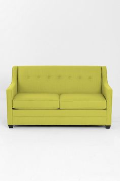 Addison Sleeper Sofa - in front room as you enter house w table behind it Small Rooms, Small Spaces, Apartment Living, Living Room, City Living, Apartment Ideas, Bric À Brac, Retro Interior Design, Guest Room Office