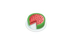 Vector packs and clip art, Vectors illustration, fonts and high resolution Stock Images. Chose from more than 5000 stock graphic files. Cake Vector, Vector Art, Watermelon Cake, Summer Snacks, Summer Cocktails, Iced Tea, Your Design, How To Draw Hands, Clip Art