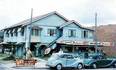 Milk Bar...cnr Cavill Ave. Surfers Paradise...1958...Courtesy Arthur Leebold Gold Coast Queensland, Brisbane Queensland, Brisbane City, Queensland Australia, Melbourne, Sunshine State, Sunshine Coast, Old Photos, Vintage Photos