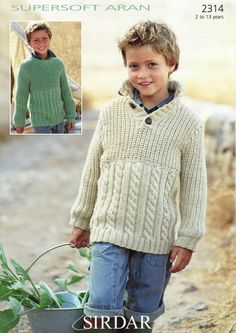Sirdar--Sweaters (2 - 13 years)