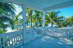 Cottage Porch with Covered porch, Porch swing, Wrap around porch, Polyester hammock, Fence Cottage Porch, Cozy Cottage, Beach Cottage Style, Beach Cottage Decor, Key West Decor, Key West Beaches, Key West Style, West Home, Exterior Makeover