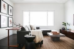 White walls and ceilings make small spaces seem brighter and larger.
