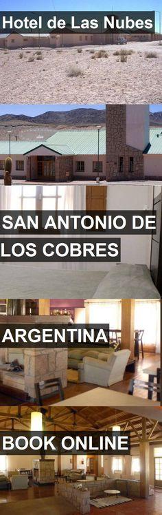 Hotel de Las Nubes in San Antonio de los Cobres, Argentina. For more information, photos, reviews and best prices please follow the link. #Argentina #SanAntoniodelosCobres #travel #vacation #hotel