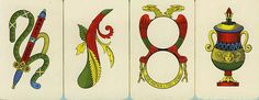 Italian Playing Cards used for Scopa & Briscola