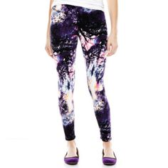 Mixit™ Twilight Print Knit Leggings  found at @JCPenney