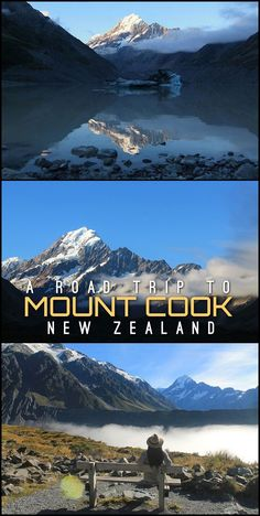 This classic New Zealand road trip to Mount Cook National Park takes in some of the South Island's most spectacular sights. From blue lakes to awesome hikes, this region of New Zealand shouldn't be missed.