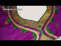 beautiful पान गला blouse design cutting and stitching Patch Work Blouse Designs, Blouse Back Neck Designs, Stylish Blouse Design, Fancy Blouse Designs, Chudidhar Neck Designs, Salwar Neck Designs, Choli Blouse Design, Silk Saree Blouse Designs, Blouse Desings