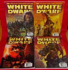 White Dwarf No. 270 No. 273 No. 274 No. 275 Games Workshop Hobby Magazines #WhiteDwarf