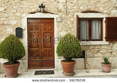 Tuscan front porch