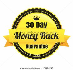 30 Day Money Back Ecommerce Badge
