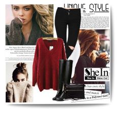 """""""Sheinside #6/II"""" by lugavicamina ❤ liked on Polyvore featuring ファッション と shein"""