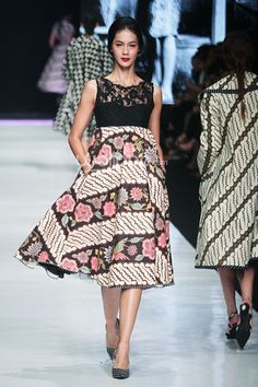 Edward Hutabarat Batik Dress