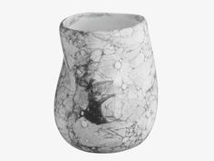 CREASE MULTI-COLOURED Ceramic Ceramic bubble patterned bathroom beaker - HabitatUK
