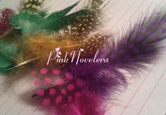 Feathers - Exotic Leopard