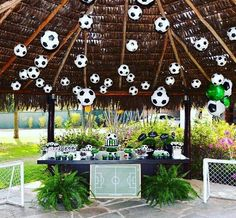 60 Different Soccer Party Photos Soccer Birthday Parties, Football Birthday, Soccer Party, Sports Party, 70th Birthday, Football Banquet, Football Themes, Construction Party Cakes, Soccer Baby Showers