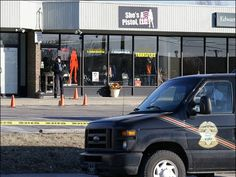 "On the afternoon of January 9, numerous robbers allegedly stormed a Shawnee, Kansas' ""She's A Pistol"" gun store; three were shot and left in critical condition."