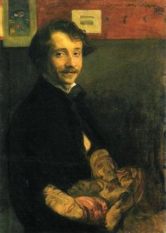 Wojciech Weiss was a prominent Polish painter and draughtsman of the Young Poland movement.  Weiss was born in Bukovina to a Polish family in exile of Stanisław Weiss and Maria Kopaczyńska. He gave up music training to study art at the Academy of Fine Arts in Kraków under Leon Wyczółkowski. Weiss originally painted historical or mythological paintings, but later switched to Expressionism after being profoundly influenced by Stanisław Przybyszewski. |